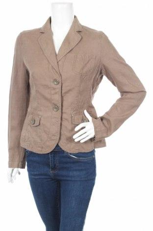Дамско сако Esprit, Размер S, Цвят Кафяв, 100% лен, Цена 6,40лв.