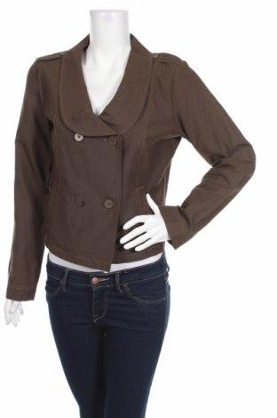 Дамско сако Mae Mahe, Размер L, Цвят Кафяв, 55% лен, 45% памук, Цена 5,60лв.