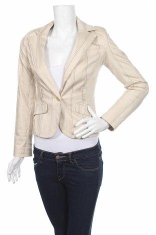 Дамско сако Tally Weijl, Размер S, Цвят Бежов, 96% памук, 4% еластан, Цена 6,76лв.