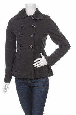 Дамско яке Pinko, Размер S, Цвят Сив, 100% памук, Цена 44,00лв.