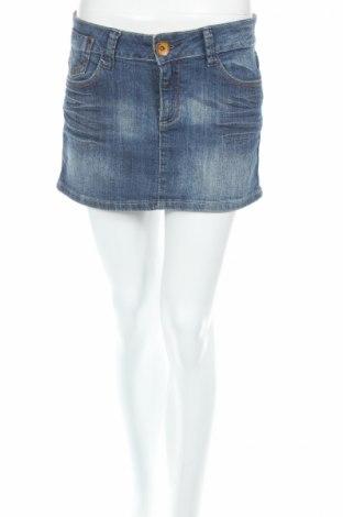 Φούστα Influence, Μέγεθος M, Χρώμα Μπλέ, 98% βαμβάκι, 2% ελαστάνη, Τιμή 3,40€