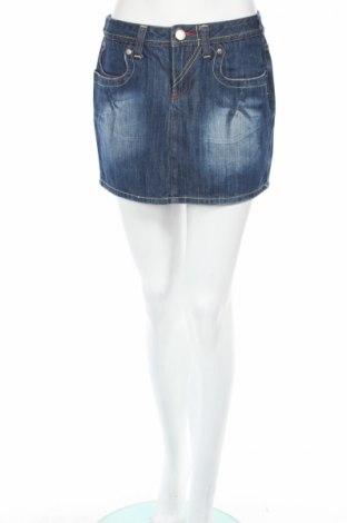 Φούστα Promod, Μέγεθος S, Χρώμα Μπλέ, 100% βαμβάκι, Τιμή 3,35€