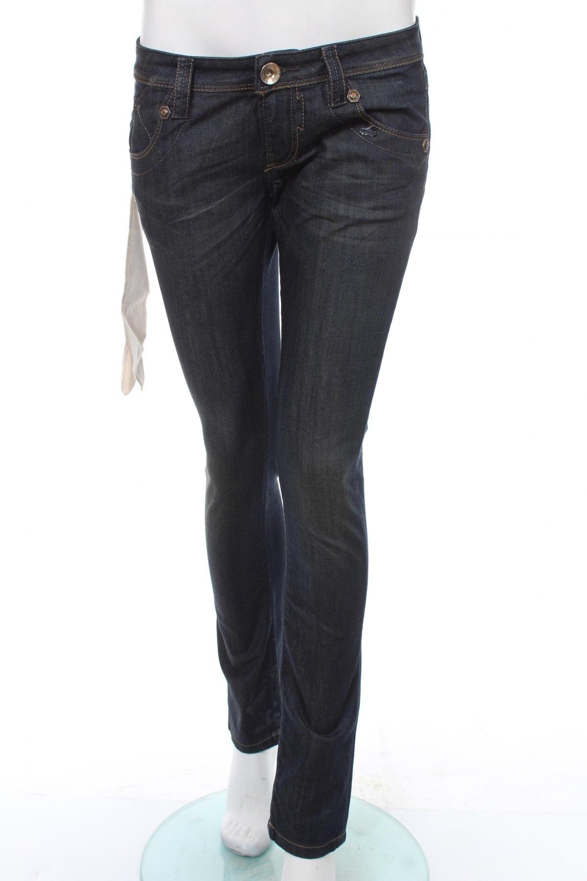 Дамски дънки Bandits Du Monde, Размер S, Цвят Син, 98% памук, 2% еластан, Цена 53,30лв.