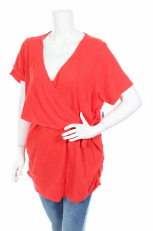Блуза за бременни Old Navy, Размер XXL, Цвят Оранжев, Памук, Цена 8,00лв.