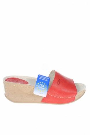 Papuče Seklo, Veľkosť 38, Farba Červená, Pravá koža , Cena  21,31€