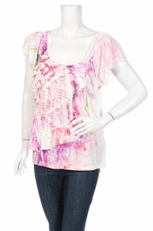 Дамска блуза Ab Studio, Размер L, Цвят Бял, 96% полиестер, 4% еластан, Цена 4,75лв.