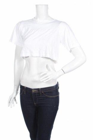 Дамска блуза Alexander Wang For H&M, Размер XS, Цвят Бял, Полиамид, Цена 14,70лв.