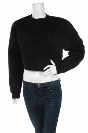 Дамска блуза Alexander Wang For H&M, Размер M, Цвят Черен, 92% полиестер, 8% еластан, Цена 31,15лв.