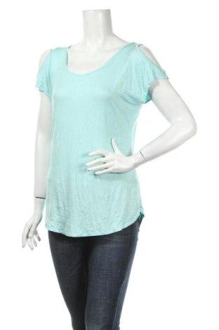 Дамска блуза Allison Brittney, Размер S, Цвят Зелен, 95% вискоза, 5% еластан, Цена 4,25лв.