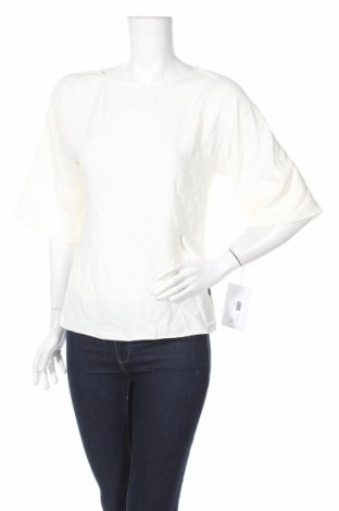 Γυναικεία μπλούζα Amanda Uprichard, Μέγεθος XS, Χρώμα Εκρού, Πολυεστέρας, Τιμή 10,89€