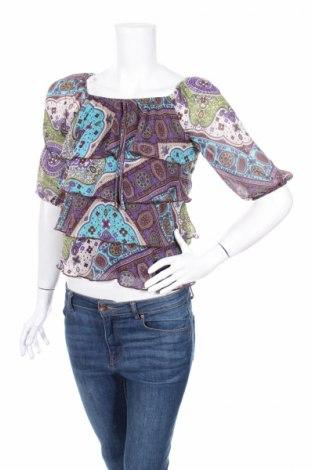 Дамска блуза Amy Byer, Размер M, Цвят Многоцветен, Полиестер, Цена 5,78лв.