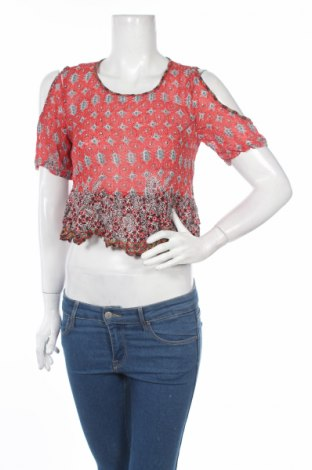 Дамска блуза Angie, Размер S, Цвят Многоцветен, Вискоза, Цена 3,08лв.