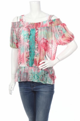 Дамска блуза Xoxo, Размер S, Цвят Многоцветен, Цена 5,58лв.