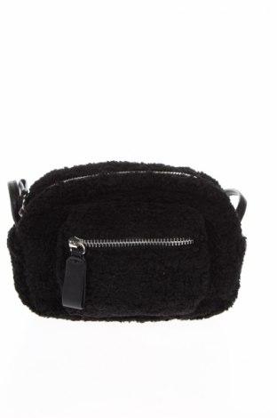 Geantă de femei Pull&Bear, Culoare Negru, Textil, Preț 18,42 Lei