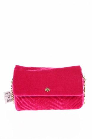 Geantă de femei Pull&Bear, Culoare Roz, Textil, Preț 35,53 Lei