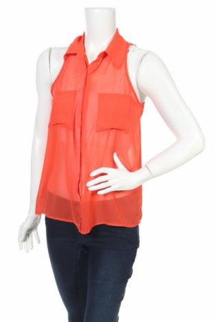 Γυναικείο πουκάμισο Decree, Μέγεθος M, Χρώμα Πορτοκαλί, Πολυεστέρας, Τιμή 3,67€