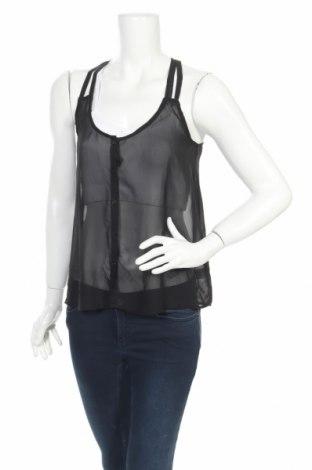 Дамска риза Xhilaration, Размер M, Цвят Черен, Полиестер, Цена 4,25лв.