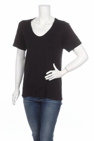 Дамска тениска Alexander Wang For H&M, Размер S, Цвят Черен, Полиестер, Цена 13,80лв.