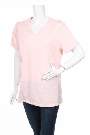 Дамска тениска Time and tru, Размер XXL, Цвят Розов, 60% памук, 40% полиестер, Цена 6,30лв.
