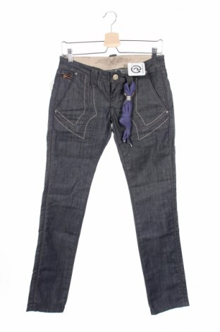 Дамски дънки Bandits Du Monde, Размер S, Цвят Син, 98% памук, 2% еластан, Цена 21,84лв.