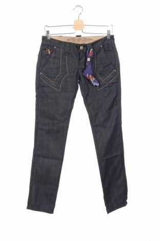 Дамски дънки Bandits Du Monde, Размер S, Цвят Син, 98% памук, 2% еластан, Цена 92,82лв.