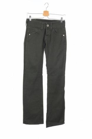 Дамски дънки Replay, Размер XS, Цвят Зелен, 100% памук, Цена 17,10лв.