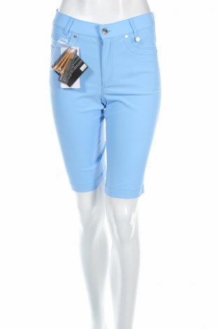 Дамски къс панталон Golfino, Размер XS, Цвят Син, 94% полиамид, 6% еластан, Цена 22,80лв.