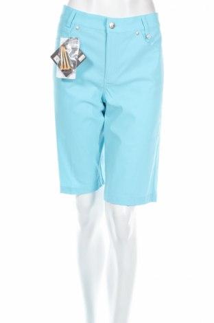 Дамски къс панталон Golfino, Размер L, Цвят Син, 94% полиамид, 6% еластан, Цена 22,80лв.