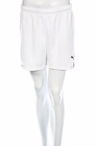 Pantaloni scurți de femei PUMA, Mărime M, Culoare Alb, Poliester, Preț 38,82 Lei