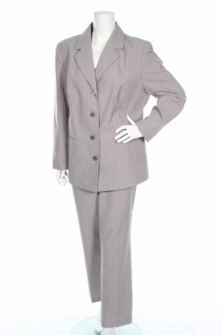 Dámsky kostým, Veľkosť XL, Farba Sivá, 98% polyester, 2% viskóza, Cena  8,62€