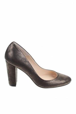 Γυναικεία παπούτσια Elodie, Μέγεθος 35, Χρώμα Χρυσαφί, Γνήσιο δέρμα, Τιμή 17,32€