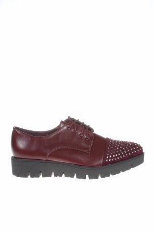 Γυναικεία παπούτσια La Bottine Souriante, Μέγεθος 41, Χρώμα Κόκκινο, Δερματίνη, κλωστοϋφαντουργικά προϊόντα, Τιμή 7,22€