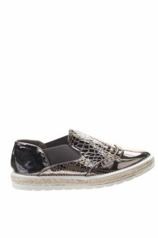 Дамски обувки W.S Shoes, Размер 41, Цвят Сребрист, Еко кожа, Цена 18,90лв.