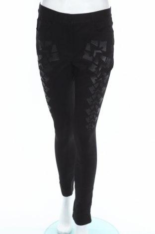 Дамски панталон Alexander Wang For H&M, Размер M, Цвят Черен, 99% памук, 1% еластан, Цена 23,85лв.