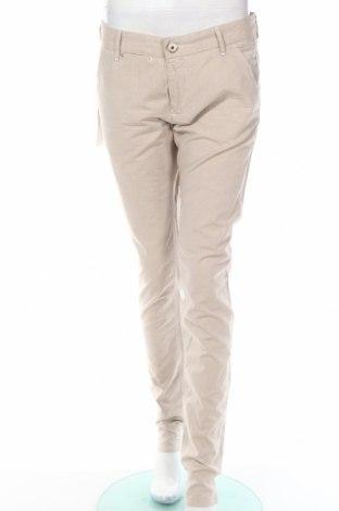Дамски панталон Gas, Размер M, Цвят Бежов, Памук, Цена 41,70лв.