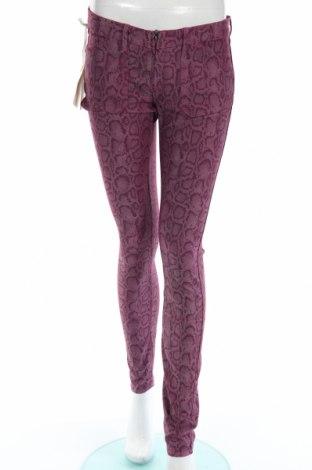 Дамски панталон Gas, Размер M, Цвят Лилав, 67% памук, 29% полиамид, 4% еластан, Цена 47,70лв.