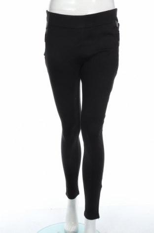Γυναικείο παντελόνι Guess, Μέγεθος S, Χρώμα Μαύρο, 66% βισκόζη, 30% πολυεστέρας, 4% ελαστάνη, Τιμή 24,36€