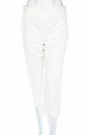 Дамски панталон Liz Claiborne, Размер M, Цвят Бял, 98% памук, 2% еластан, Цена 9,00лв.