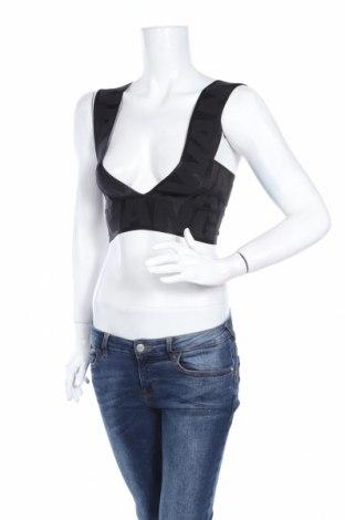 Дамски потник Alexander Wang For H&M, Размер XS, Цвят Черен, 90% полиамид, 10% еластан, Цена 26,70лв.