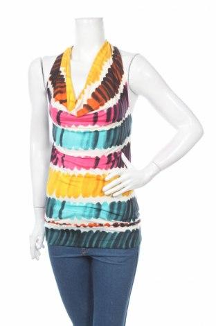 Γυναικείο αμάνικο μπλουζάκι Amelie & Amelie, Μέγεθος S, Χρώμα Πολύχρωμο, 95% πολυεστέρας, 5% ελαστάνη, Τιμή 2,17€