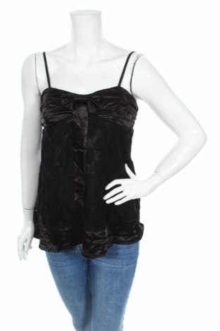 Γυναικείο αμάνικο μπλουζάκι Be Cool, Μέγεθος M, Χρώμα Μαύρο, 70% πολυεστέρας, 30% βαμβάκι, Τιμή 2,78€