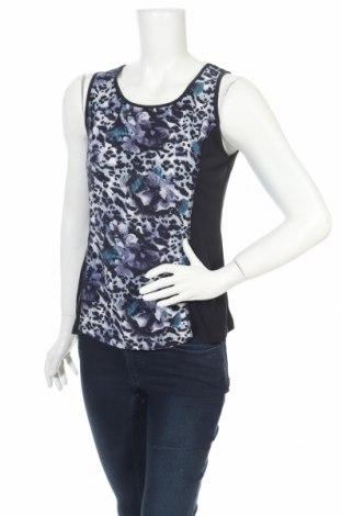 Γυναικείο αμάνικο μπλουζάκι Christopher & Banks, Μέγεθος S, Χρώμα Μπλέ, 95% πολυεστέρας, 5% ελαστάνη, Τιμή 3,34€