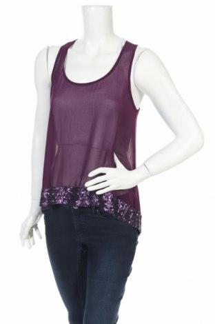 Γυναικείο αμάνικο μπλουζάκι Mossimo, Μέγεθος S, Χρώμα Βιολετί, Πολυεστέρας, Τιμή 2,48€