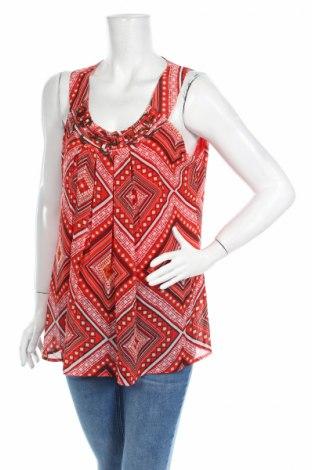 Γυναικείο αμάνικο μπλουζάκι Zac & Rachel, Μέγεθος L, Χρώμα Κόκκινο, Πολυεστέρας, Τιμή 2,63€