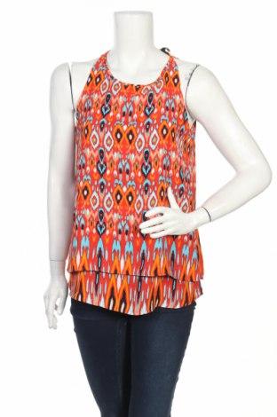 Γυναικείο αμάνικο μπλουζάκι Zac & Rachel, Μέγεθος S, Χρώμα Πολύχρωμο, Πολυεστέρας, Τιμή 2,78€