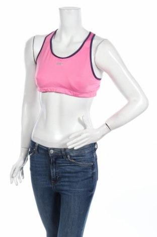 Top sport de damă. Shock Absorber, Mărime XL, Culoare Roz, 50% poliamidă, 44% poliester, 6% elastan, Preț 48,95 Lei