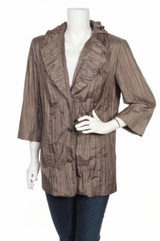 Дамско сако Alessa W., Размер XL, Цвят Кафяв, Цена 5,75лв.
