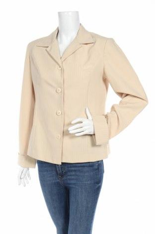 Дамско сако Woodpecker, Размер L, Цвят Бежов, 100% полиестер, Цена 5,40лв.