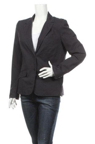 Дамско сако H&M L.o.g.g, Размер XL, Цвят Син, 98% памук, 2% еластан, Цена 6,50лв.