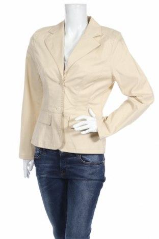 Дамско сако Madeleine, Размер M, Цвят Бежов, 57% памук, 40% лиосел, 3% еластан, Цена 10,50лв.